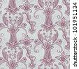 Pink  Seamless  Wallpaper - stock photo