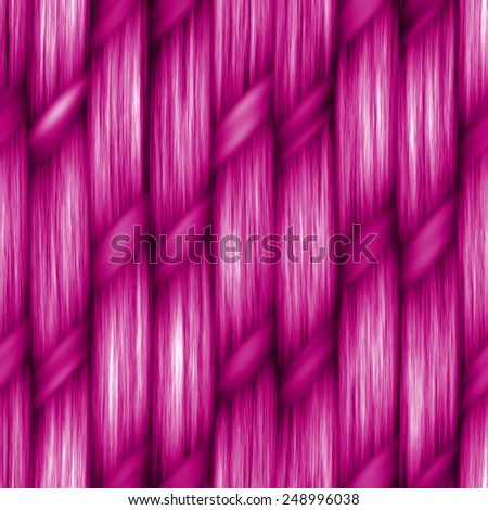pink seamless weaving texture pattern wood  or hair - stock photo
