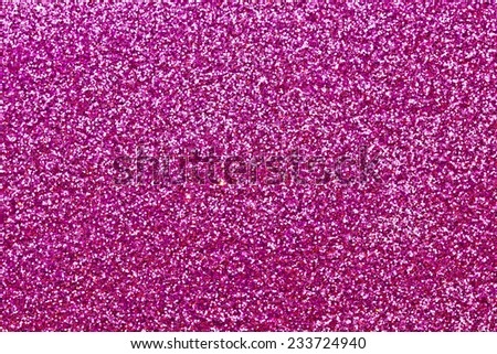 Pink shiny confetti texture. - stock photo