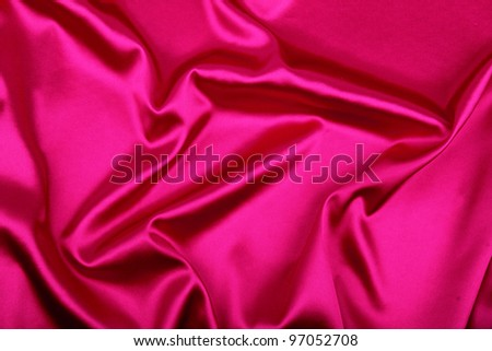 Pink silk background, can use as background - stock photo