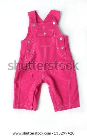 pink trousers - stock photo