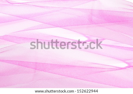 Pink tulle texture - stock photo