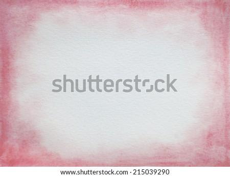 pink vignette wash - stock photo