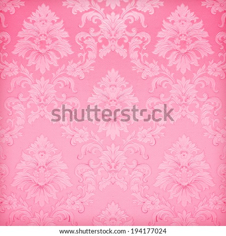 pink wallpaper background - stock photo