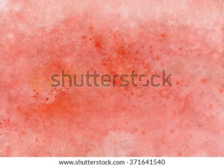 pink watercolor - stock photo