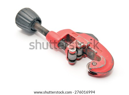 pipe cutter  - stock photo