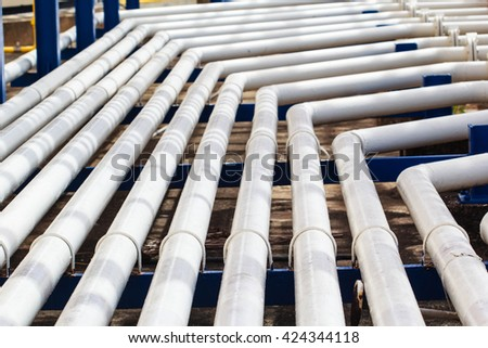 pipeline oil and gas production petroleum refinery