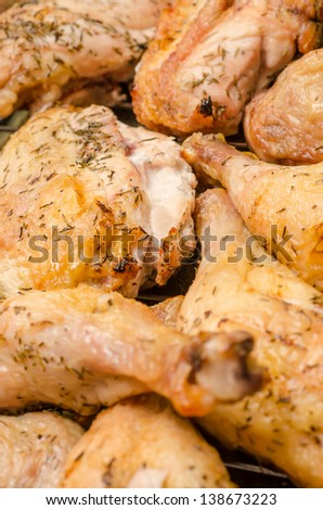 Piquant Chicken Baked In Oven