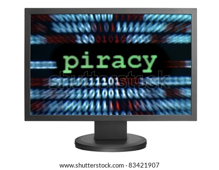 Piracy - stock photo