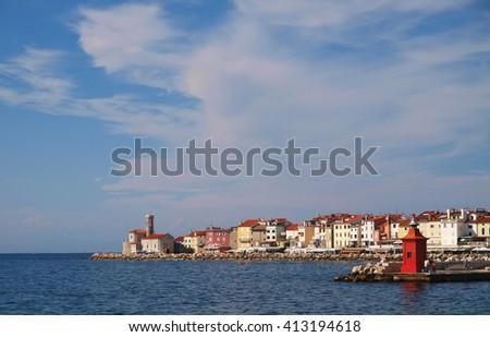 Piran, Slovenia - stock photo