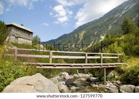 Pirin mountains, Bansko Bulgaria - stock photo