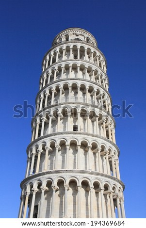 Pisa leaning tower, unesco world heritage, Italy