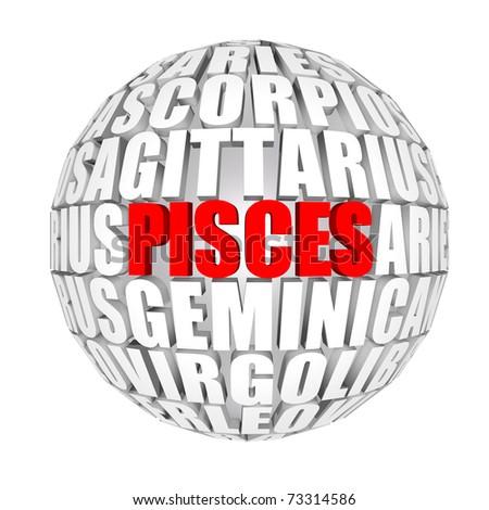 pisces - stock photo
