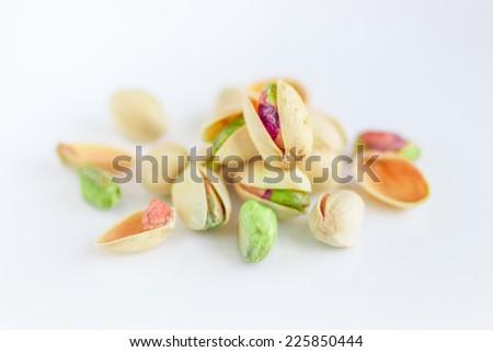 Pistachio Nuts, Fruits - stock photo