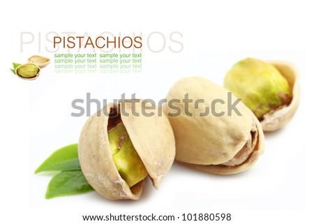 Pistachios - stock photo