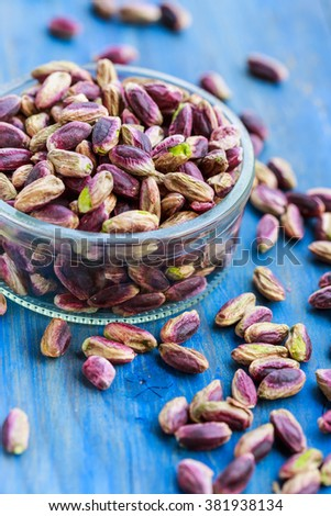 Pistachios from Bronte, Sicily - stock photo