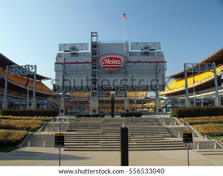PITTSBURGH - OCT 14: Heinz Field home of the Pittsburgh Steelers and University of Pittsburgh Panthers. Steelers lost Super Bowl XLV to the Greenbay Packers. Taken October 01, 2014 in Pittsburgh, PA.