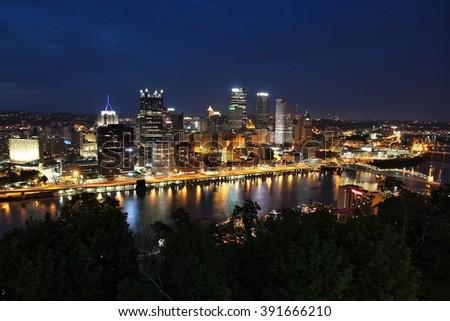 Pittsburgh, Pennsylvania. - stock photo