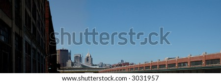 Pittsburgh Strip District - stock photo