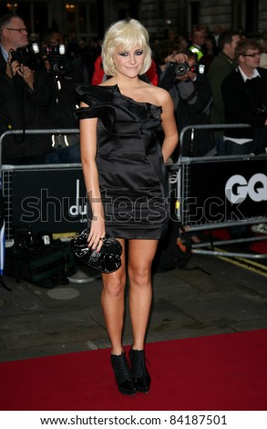 Pixie Lott arriving for the 2011 GQ Awards, Royal Opera House, London. 06/09/2011  Picture by: Alexandra Glen / Featureflash