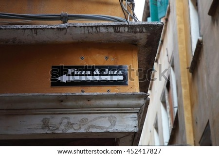 Pizza and jazz