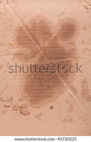 Pizza box texture background - stock photo