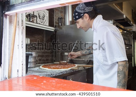 Pizza chef and business owner