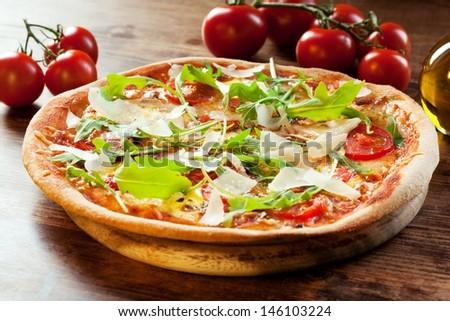 Pizza Rocket - stock photo
