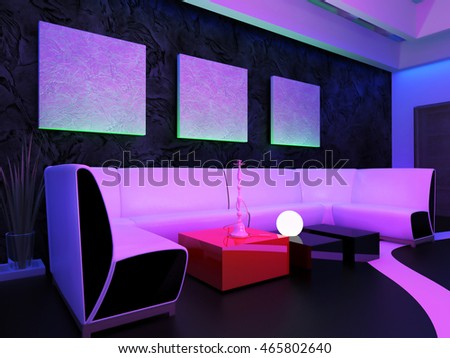 Living Room Nightclub alexey kashin's portfolio on shutterstock