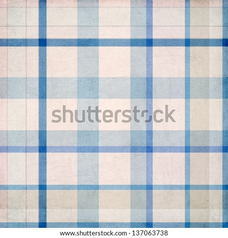 plaid background pattern - stock photo
