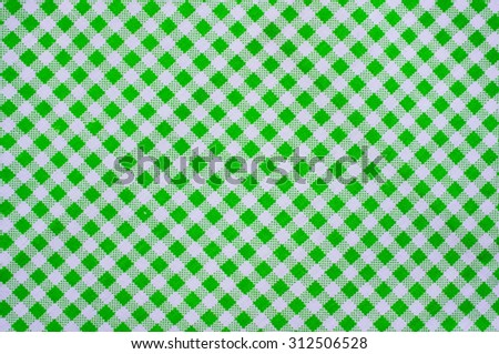 Plaid fabric surface texture