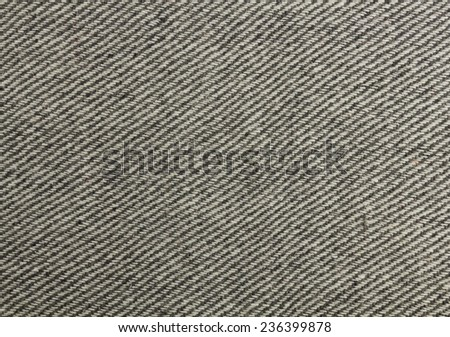 Plaid gray with a tweed pattern of soft fluffy wool. - stock photo
