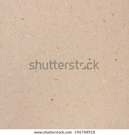 Plain Blank Cardboard Texture - stock photo