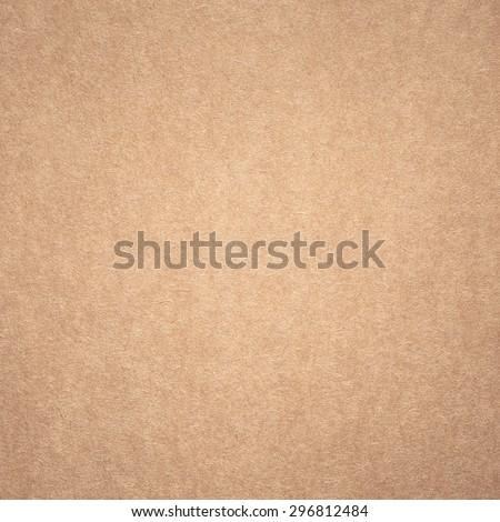 Plain Cardboard Texture - stock photo
