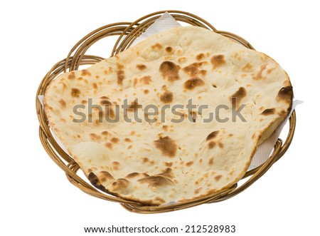 Plain Naan - Indian traditional cuisine