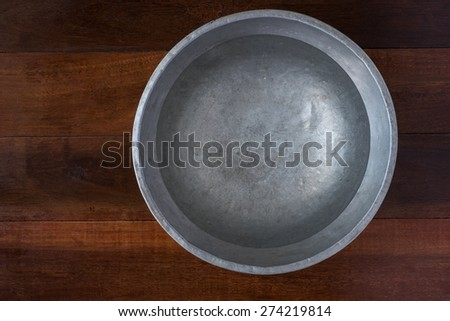 plain water for cooking , wash the vegetable - stock photo