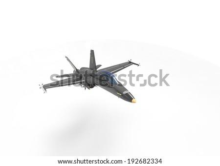 plane fighter - stock photo