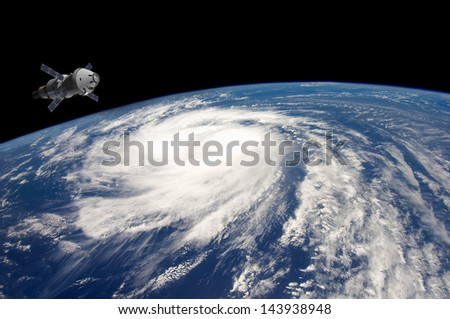 PLANET EARTH . Elements of this image furnished by NASA. - stock photo