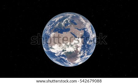 Planet Earth (Elements of this image furnished by NASA)