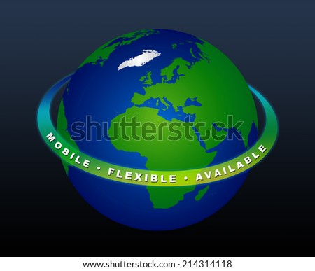 Planet Earth - MOBILE FLEXIBLE AVAILABLE