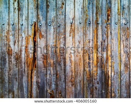 plank wall wood texture background - stock photo