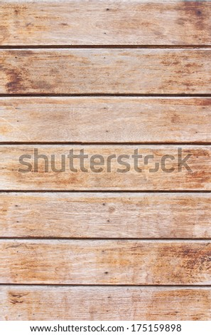 Plank walls for background