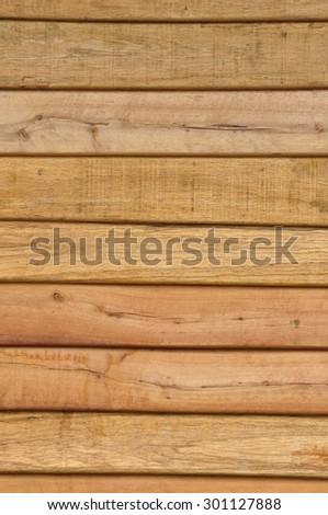 plank wood wall background - stock photo