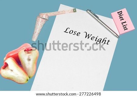 """Planning of diet """" NO ALCOHOL"""". isolated on white background - stock photo"""