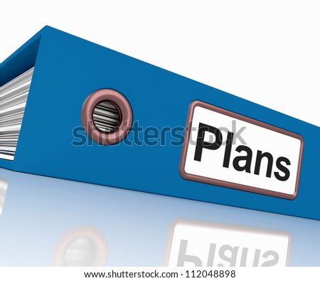 Plans File As Containing Targets And Goals