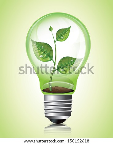 Plant in Light Bulb bitmap copy