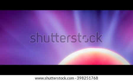 Plasma ball long exposure - stock photo