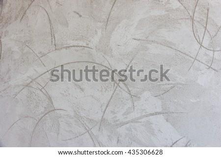plaster wall or masonry construction sites - stock photo
