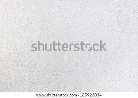 Plastered wall in small grain - stock photo