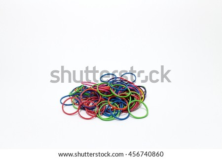 Plastic band - stock photo